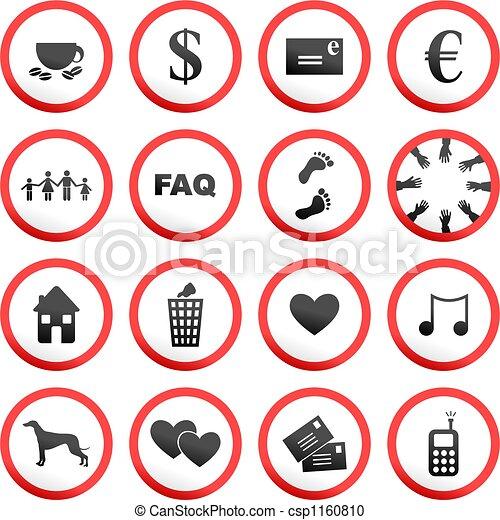 round road signs - csp1160810