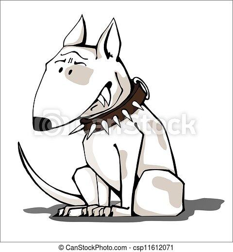 Vicious Dog Drawing