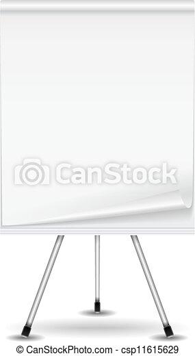 Flip chart - csp11615629