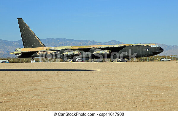 Historic B-52 Bomber - csp11617900