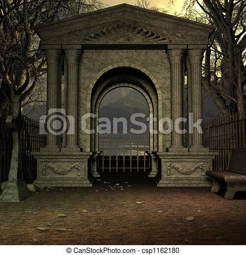 Mystic Cemetery - csp1162180