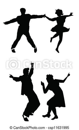 dance man  - csp11631995
