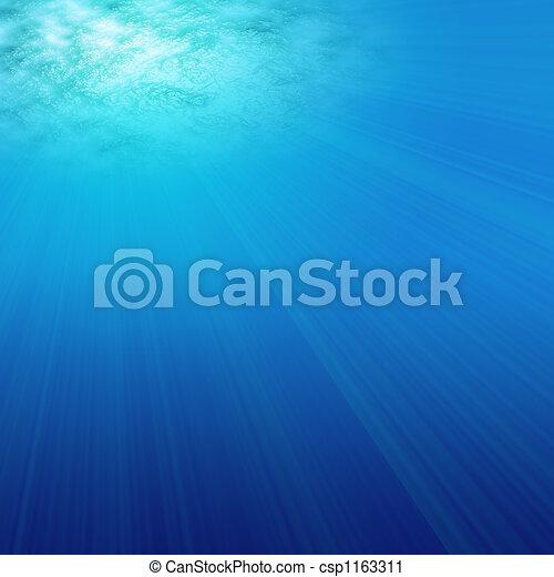 under water love - csp1163311