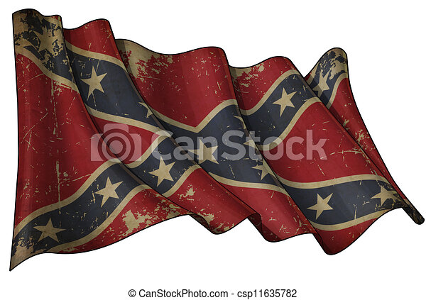 Confederate Rebel Historic flag - csp11635782