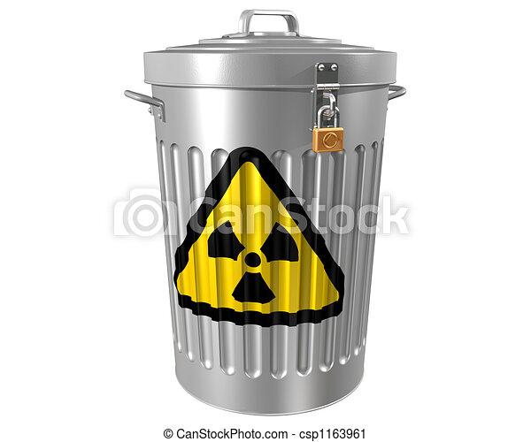 Radioactive Waste - csp1163961