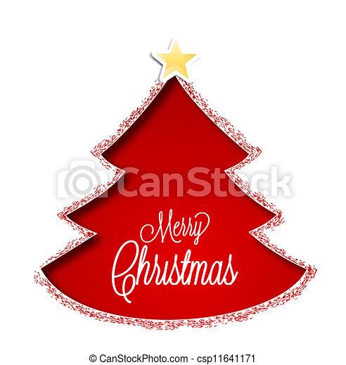 Christmas tree - csp11641171