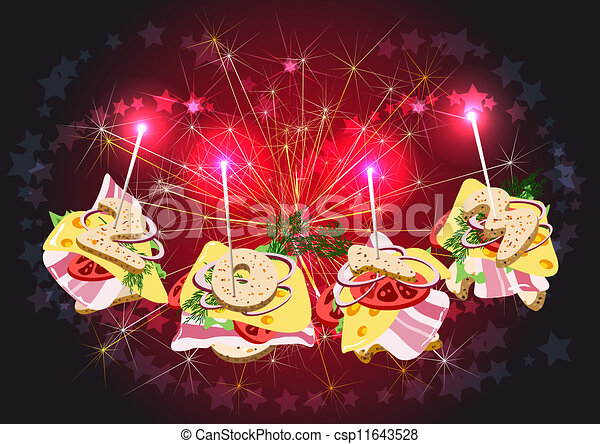 Vector illustraie van canape figuren tegen groet the for Canape vector download