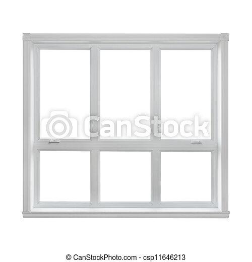 Stock fotografie von modern fenster freigestellt wei es for Fenster 800x800