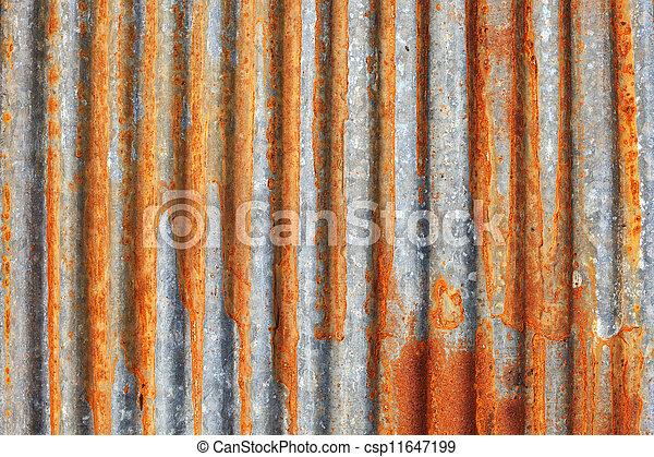 Rusty metal texture - csp11647199