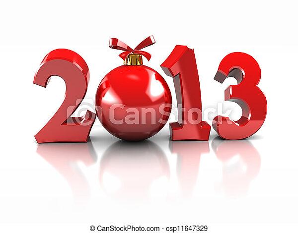 Symbol of New Year - csp11647329