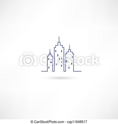 City Icon - csp11648517