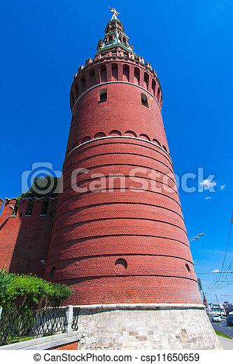 The Moscow Kremlin. Water Tower - csp11650659