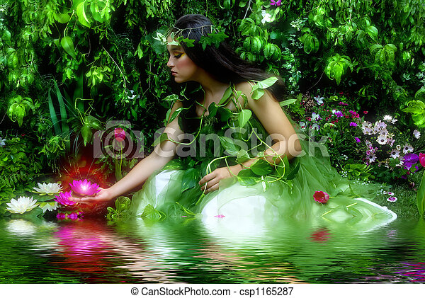 Enchanted Garden - csp1165287