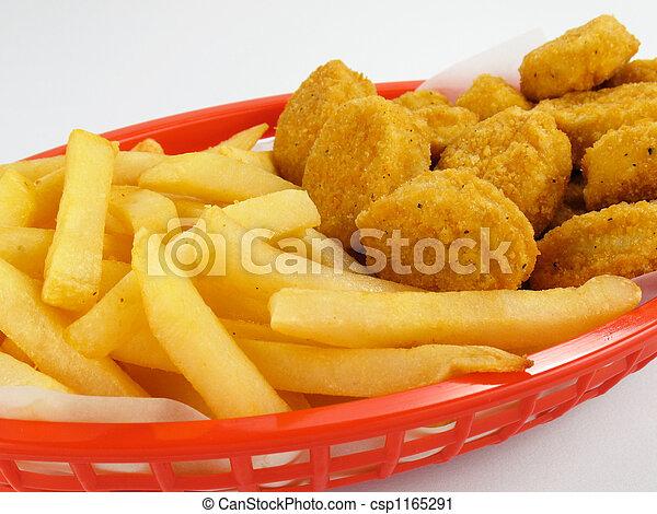 Chicken Nuggets Basket - csp1165291