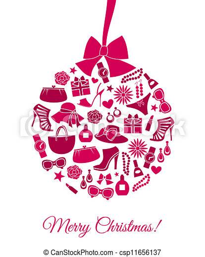 Fashion Christmas Ball - csp11656137