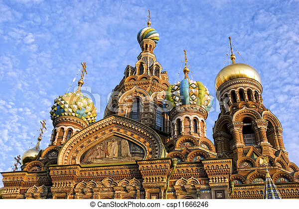 Church of Savior on Spilled Blood. - csp11666246