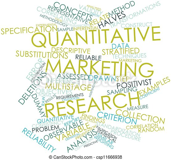 quantitative marketing research Quantitative marketing research is the application of quantitative research techniques to the field of marketing it has roots in both the positivist view of the.