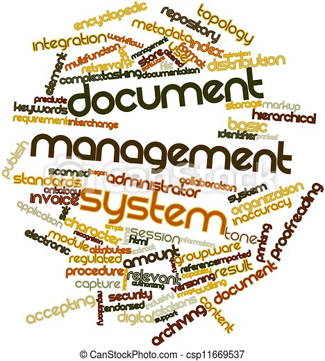Drawings of document management system abstract word for Document management system login