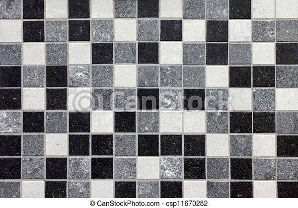 Pel culas de negro blanco gris mosaico azulejos Azulejos bano blanco y gris