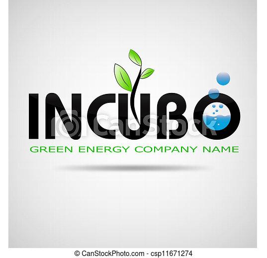 logo incubo green energy company - csp11671274