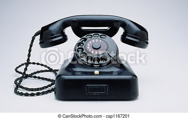 sovjetmedborgare,  retro, telefon - csp1167201