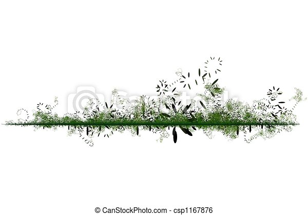 Green Environmental Friendly Abstract Background - csp1167876