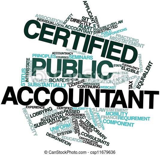 accountant certified public: