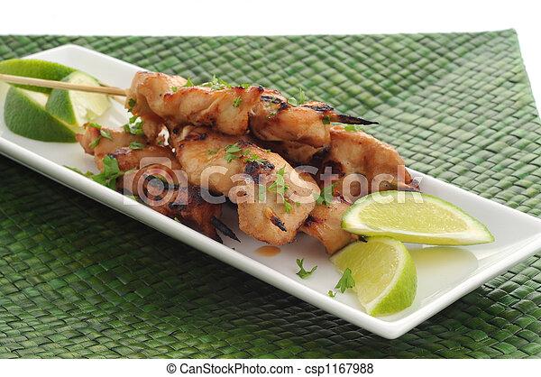 Chicken Satay - csp1167988