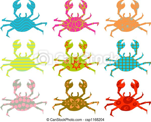 patterned crabs - csp1168204
