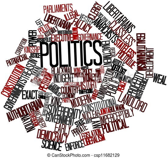 Word cloud for Politics - csp11682129