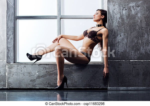 Young sexy woman - csp11683298