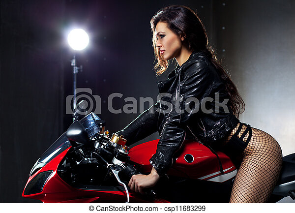 Young sexy woman - csp11683299