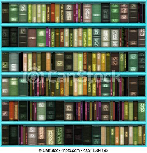 Library Bookshelf Clipart bookshelves background