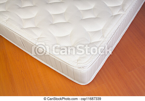 Detail of a white Mattress - csp11687339