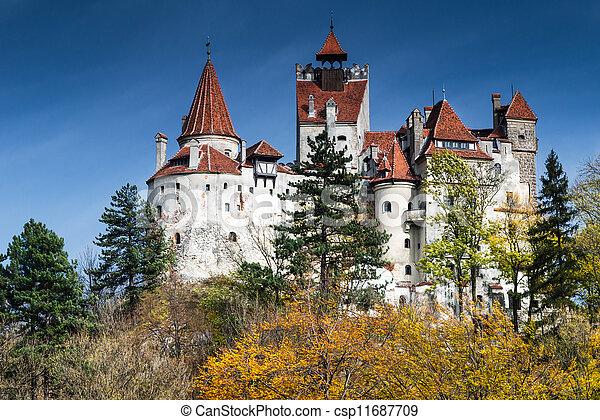Bran medieval Castle, Transylvania, Romania - csp11687709