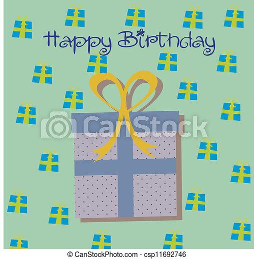 Birthday icons    - csp11692746