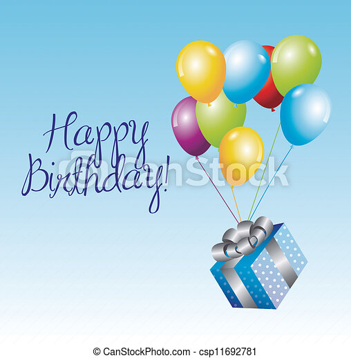 Birthday icons   - csp11692781