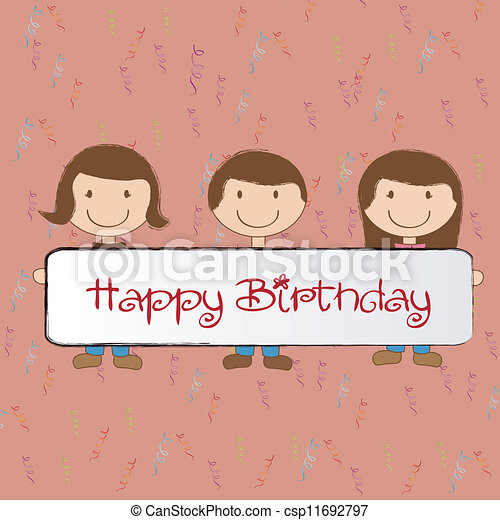 Birthday icons   - csp11692797