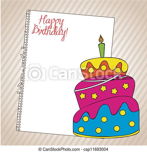 Birthday icons - csp11693004