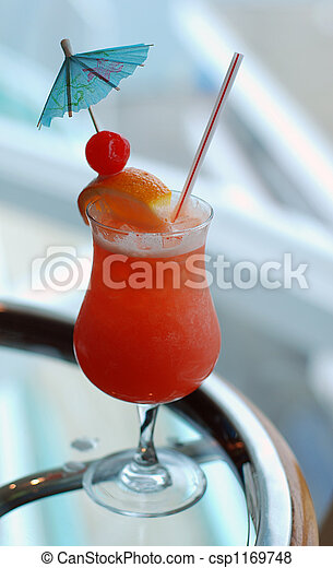 A tropical fruit drink - csp1169748