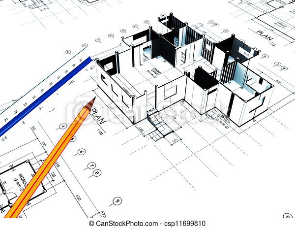 Clipart of home plot plan 3d home plot plan with white for Plot plan for my house online