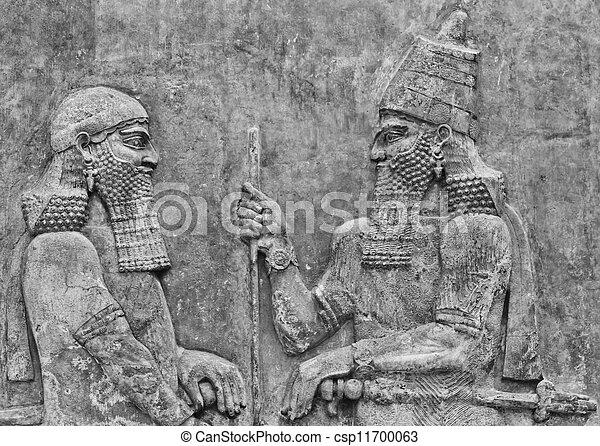 Mesopotamian Art - csp11700063