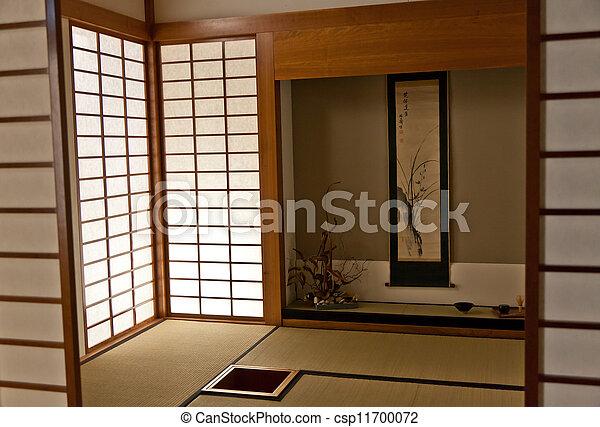 Bilder von japanisches zimmer inneneinrichtung japanisches zimmer csp11700072 suchen - Japanisches zimmer ...