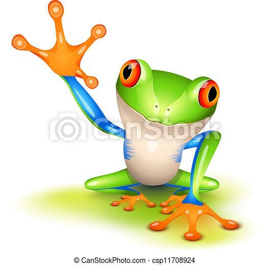 Little tree frog - csp11708924