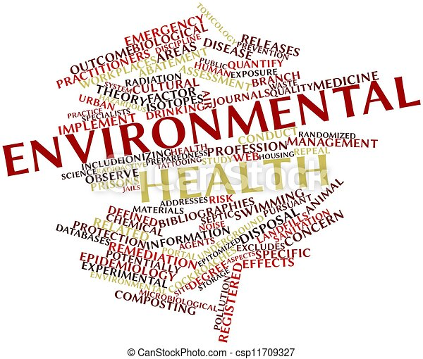 Environmental Health helping words for composition