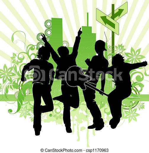 street music - csp1170963