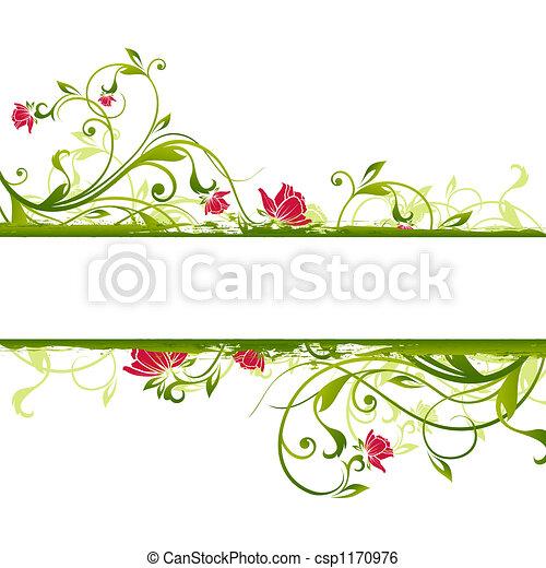 floral frame - csp1170976