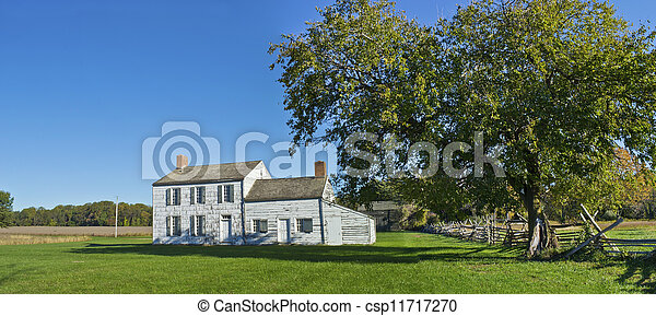 Historic Monmouth Panorama - csp11717270