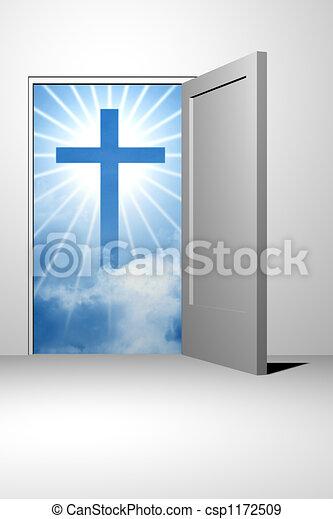 god heaven entrance - csp1172509