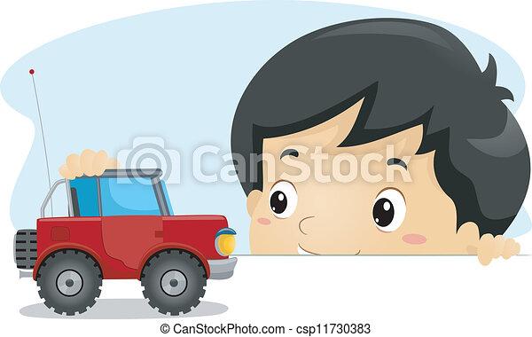 Toy Truck - csp11730383
